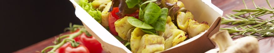 Ekologické misky na salát - ECOFOL